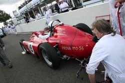Richmond Trophy: Alain De Cadenet, Lancia-Ferrari D50a