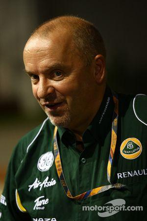 Mike Gascoyne, Team Lotus, Jefe técnico