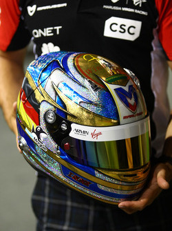 Timo Glock, Marussia Virgin Racing ve special edition, kask