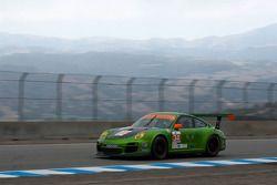 #34 Green Hornet/ Black Swan Racing Porsche 911 GT3 Cup: Peter LeSaffre, Damien Faulkner