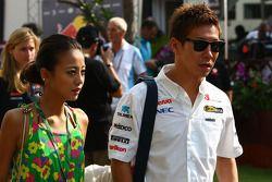 Kamui Kobayashi, Sauber F1 Team en vriendin