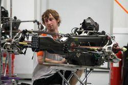 Force India Racing Team mechanic