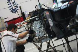 Sauber F1 Team mechanic