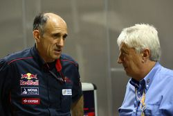 Franz Tost, Scuderia Toro Rosso, Team Principal with Charlie Whiting, FIA Safty delegate, Race direc