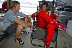 Ryan Dalziel en #22 Ferrari of Ft. Lauderdale Ferrari 458 Challenge: Enzo Potolicchio