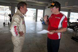 Richard Spénard en #91 Ferrari of Ft. Lauderdale Ferrari F430 Challenge: Guy Leclerc