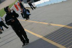 SIno Vison racing mecanicien