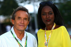 Jacky Ickx and his wife kadjanine