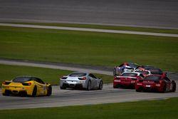 Start: #22 Ferrari of Ft. Lauderdale Ferrari 458 Challenge: Enzo Potolicchio
