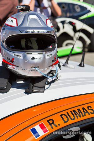 Romain Dumas' Helmet