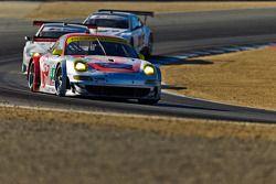 #45 Porsche 911 GT3 RSR: Jörg Bergmeister, Patrick Long