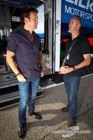 Justin Bell en David Brabham