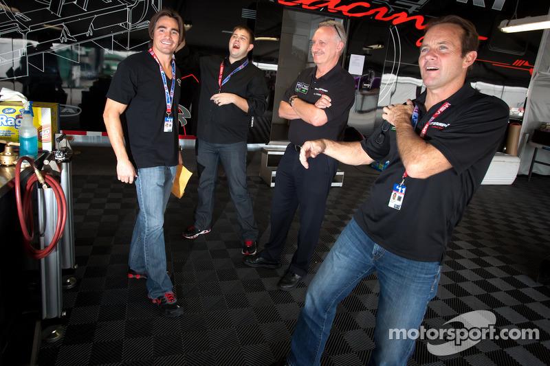Chapman Ducote, Clint Field and Jon Field share a laugh