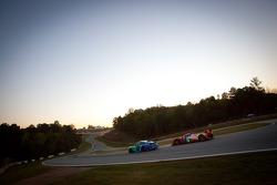 #17 Team Falken Tire Porsche 911 GT3 RSR: Wolf Henzler, Bryan Sellers, Martin Ragginger, #12 Rebelli