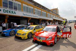#17 David Coulthard (Deutsche Post AMG Mercedes / Deutsche Post AMG Mercedes C-Klasse (2008)), #20 R