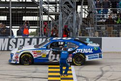 Race winnaar Carl Edwards