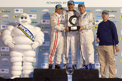 Michelin Green X Challenge: Prototype winners #22 United Autosports Oak Pescarolo Judd: Zak Brown, Stefan Johansson, Mark Patterson