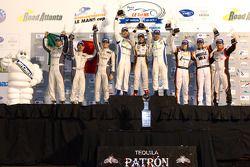 PC podium: winnaars Ken Dobson, Henri Richard en Ryan Lewis, 2de Kyle Marcelli, Tomy Drissi en Chapm