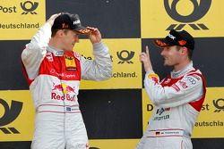 Podium: Mattias Ekström (Audi Sport Team Abt Sportsline / Red Bull Audi A4 DTM (2009)), #14 Martin T