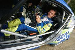 Dennis Kuipers en Frederic Miclotte, Ford Fiesta RS WRC, FERM Rally Team