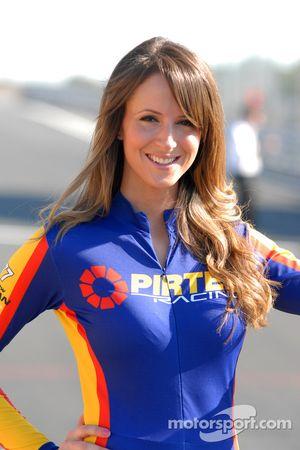 Pirtek Racing gridgirl Andrew Jordan