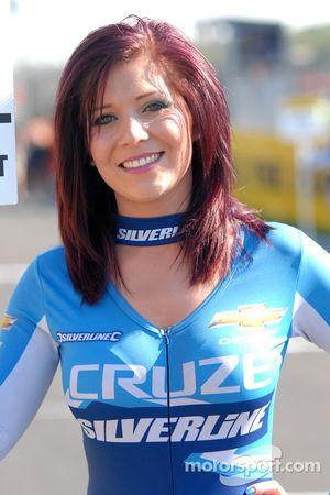 Silverline Chevrolet gridgirl, Caroline Hall