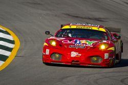 #61 AF Corse Ferrari F430: Robert Kauffman, Rui Aguas, Justin Bell