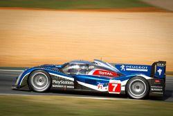 #7 Peugeot Sport Total, Peugeot 908: Anthony Davidson, Sébastien Bourdais, Simon Pagenaud