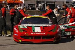 #51 AF Corse Ferrari F458 Italia: Giancarlo Fisichella, Gianmaria Bruni, Pierre Kaffer