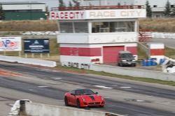 Ryan Ockey drives his Ferarri 599GTO