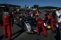 L'Audi R18 TDI N°2 (Tom Kristensen, Allan McNish, Rinaldo Capello)
