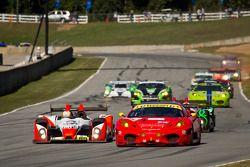 #89 Intersport Racing Oreca FLM09: Kyle Marcelli, Tomy Drissi, Chapman Ducote, David Ducote, #62 CRS