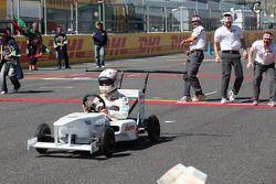 Kamui Kobayashi, Sauber F1 Team zeepkistenrace