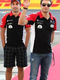 Jerome d'Ambrosio, Virgin Racing and Timo Glock, Virgin Racing