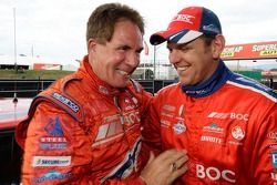 Darrell Waltrip and Jason Bright