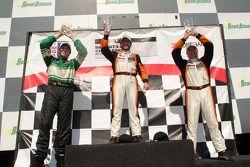 GT3 Cup Platinum Class: Carlos Kauffmann, Henrique Cisneros, John Potter
