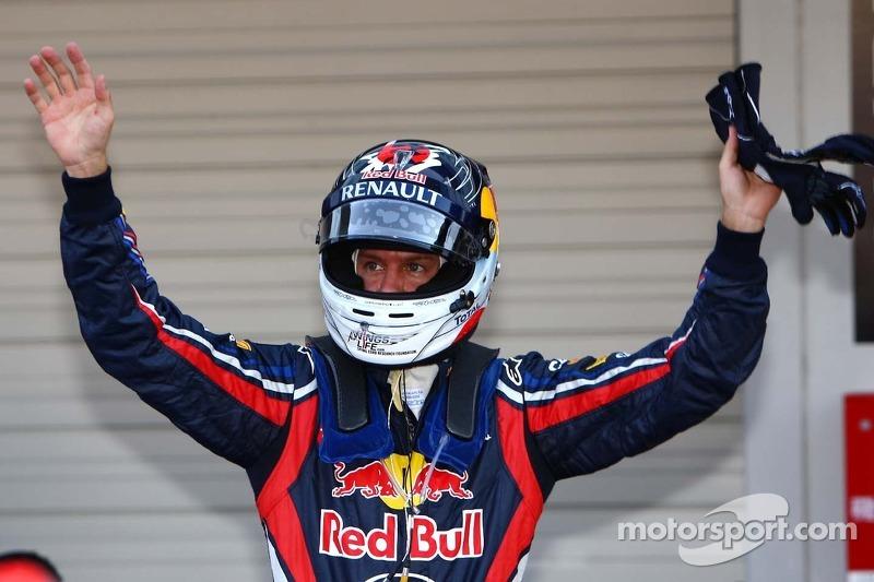 Sebastian Vettel en el GP de Japón 2011 (Red Bull)