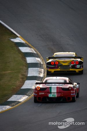 #3 Corvette Racing Chevrolet Corvette C6 ZR1: Olivier Beretta, Tom Milner, Antonio Garcia, #61 AF Co