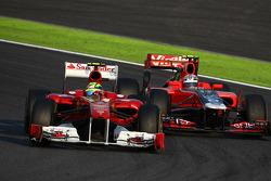 Felipe Massa, Scuderia Ferrari ve Jerome d'Ambrosio, Marussia Virgin Racing
