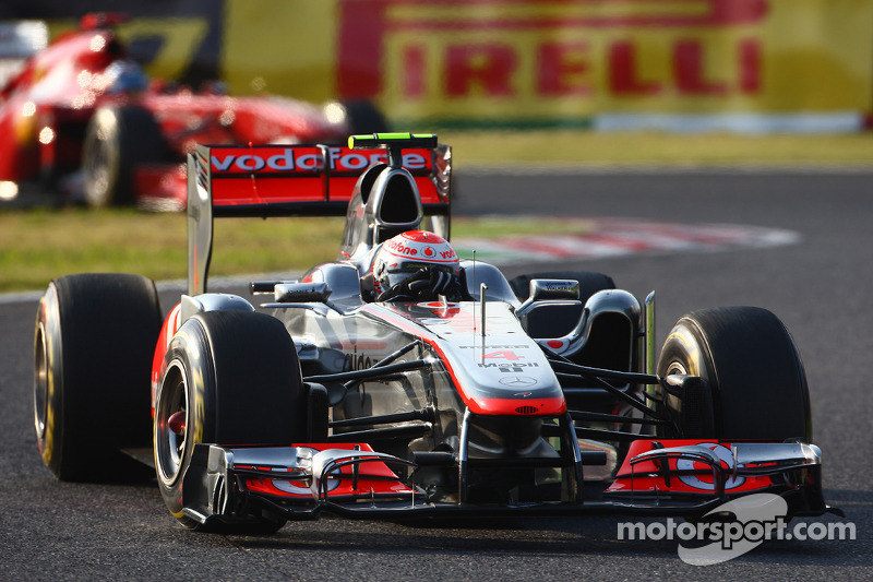 2011 - Suzuka: Jenson Button, McLaren-Mercedes MP4-26