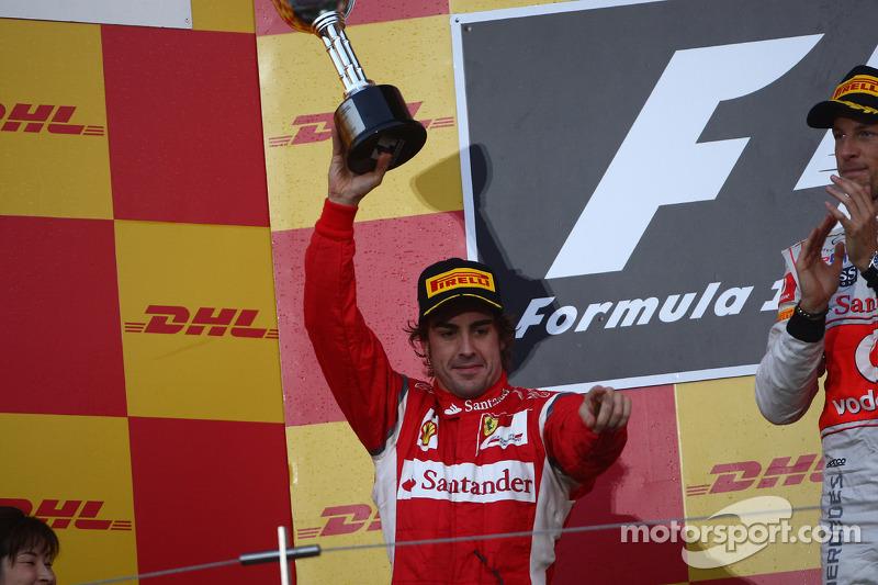 73- Fernando Alonso, 2º en el GP de Japón 2011 con Ferrari
