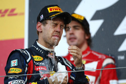 Sebastian Vettel, Red Bull Racing new world champion