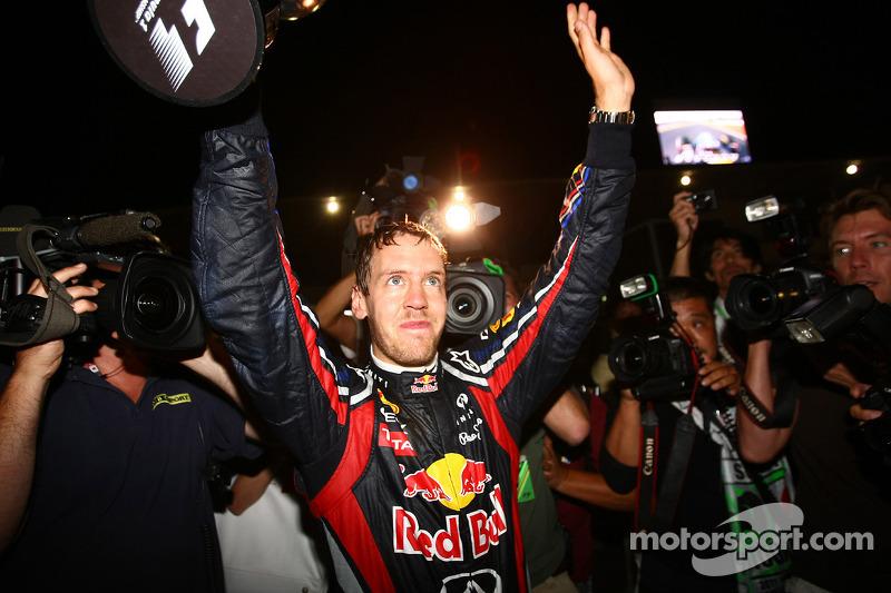 Sebastian Vettel, campeón del mundo de F1 2011