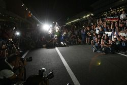 Christian Horner, Red Bull Racing, Director deportivo, Sebastian Vettel, Red Bull Racing y Adrian Ne