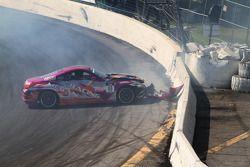 Alex Pfeiffer crash, Megan Racing Nissan 350Z
