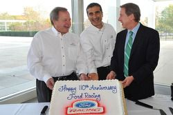 Edsel Ford II, bestuurslid Ford Motor Company en William Clay Ford Jr., voorzitter Ford Motor Compan