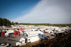 Road Atlanta paddock
