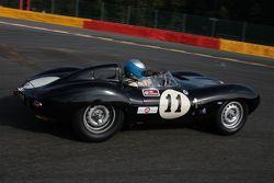 #11 Jaguar D-type: Ludovic Lindsay, Fred Wakeman