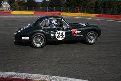 #24 Jaguar XK140: John Davies Robert, Melvin Floyd