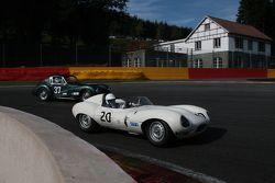#20 Jaguar D-type: Carlos Monteverde, Gary Pearson